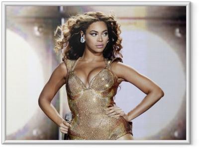 Beyonce Kehystetty juliste