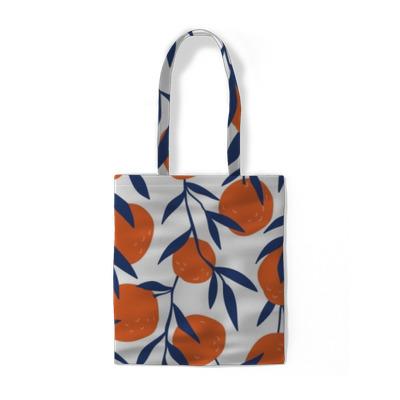 Tropische naadloze patroon met rode sinaasappelen. fruit herhaalde achtergrond. vector heldere afdruk voor stof of behang. Katoen tassen