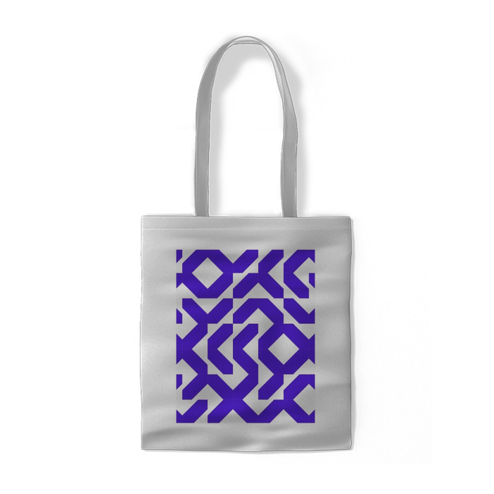 Minimalistic modern violet pattern Cotton bags - cotton_bags_row2_24
