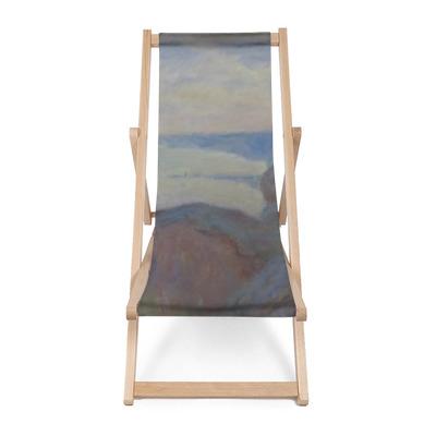 Sedia a sdraio Claude Monet - Steef scogliere vicino a Dieppe