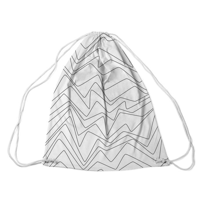 Bezszwowy Minimalne linie abstrakcyjne strpes papieru tekstylna tkanina wzór Plecaki - Zasoby graficzne