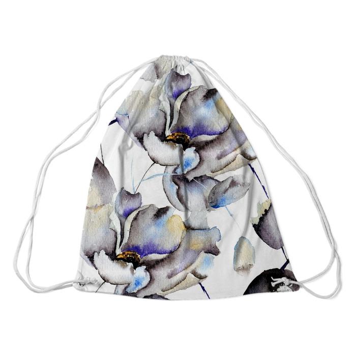 Jednolite wzory z pięknymi kwiatami Plecaki - Style