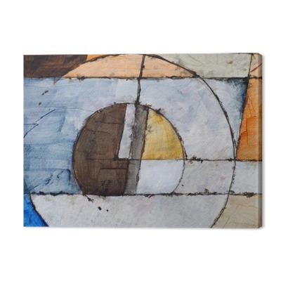 Quadros em tela premium Uma pintura abstrata