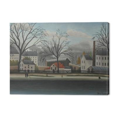 Henri Rousseau - Suburban Scene Premium prints
