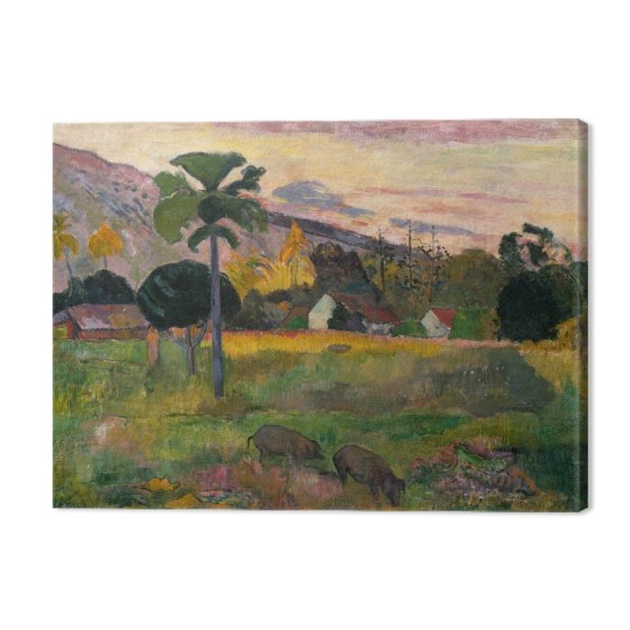 Paul Gauguin - Haere mai (Come here) Premium prints - Reproductions