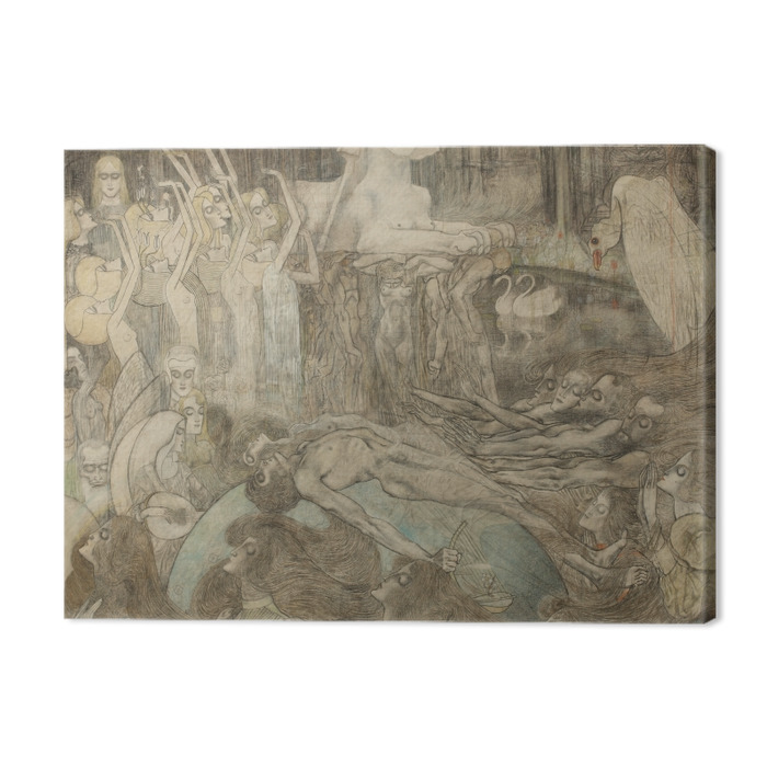 Jan Toorop - Sphinx Premium prints - Reproductions