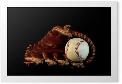 Pure baseball Framed Poster