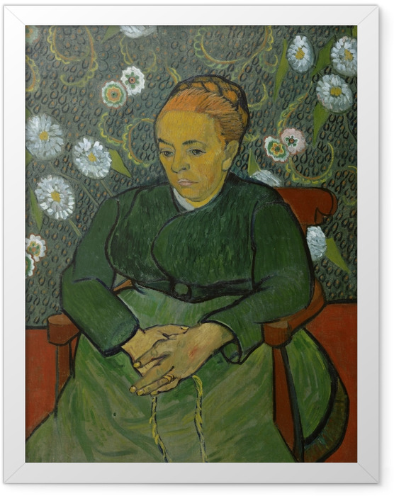 Plakat w ramie Vincent van Gogh - Piastunka - Reproductions