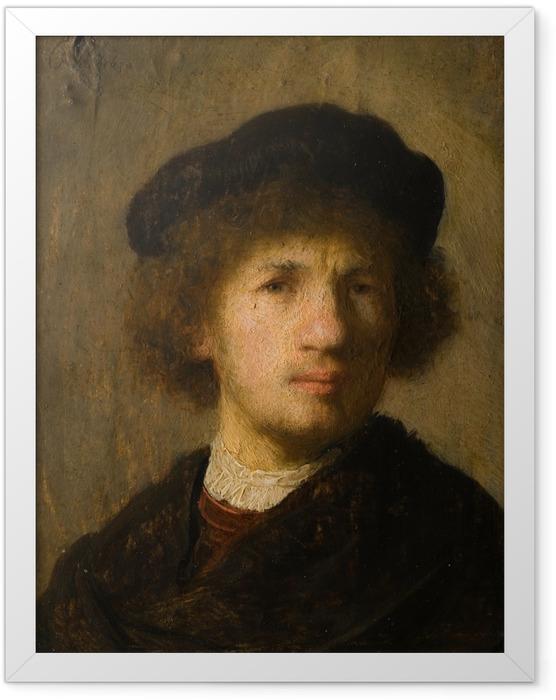 Plakat w ramie Rembrandt - Autoportret - Reprodukcje