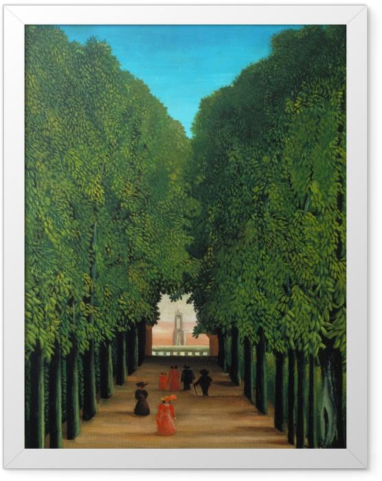 Poster en cadre Henri Rousseau - Allée au parc de Saint-Cloud - Reproductions
