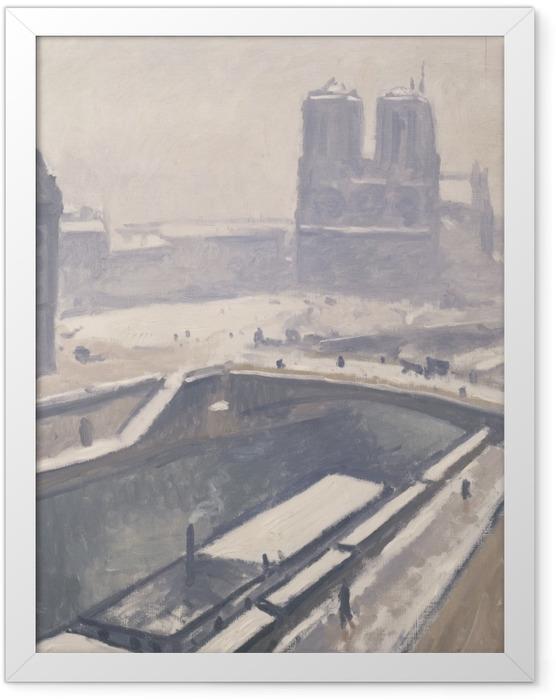 Poster en cadre Albert Marquet - Vue de Notre-Dame - Reproductions