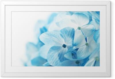 Gerahmtes Poster Blumen Hintergrund