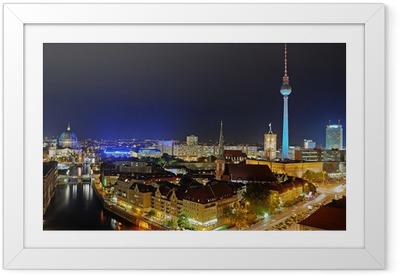 Plakat w ramie Wieża telewizyjna w Berlinie