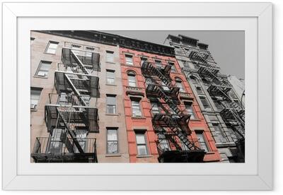 Ingelijste Poster Een reis naar New York