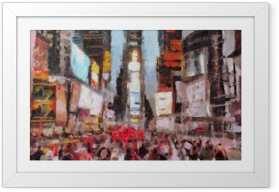Times Square New York City Framed Poster