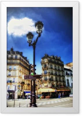 Montmartre Framed Poster