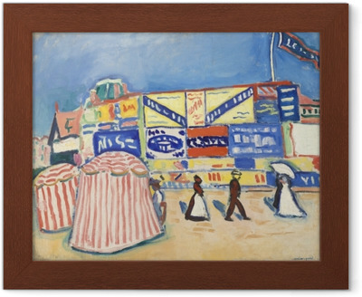 Albert Marquet - Posters in Trouville Framed Poster