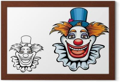 intera collezione acquista per il meglio come trovare Sorridente circus clown in cappello