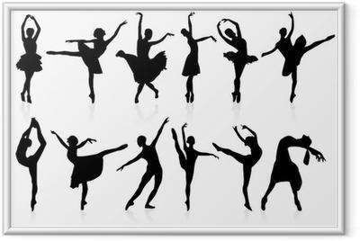 Ingelijste Poster Ballet