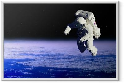 Ingelijste Poster De astronaut