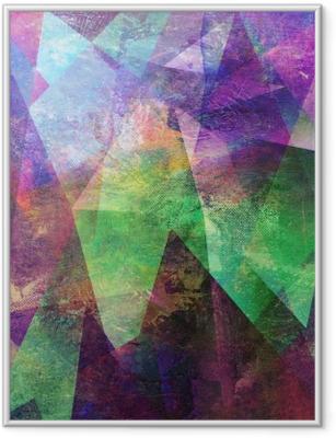 Poster en cadre Malerei Graphik abstrakt - Émotions et sentiments