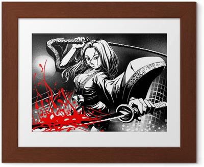 Poster in Cornice Quando i fumetti incontrano manga
