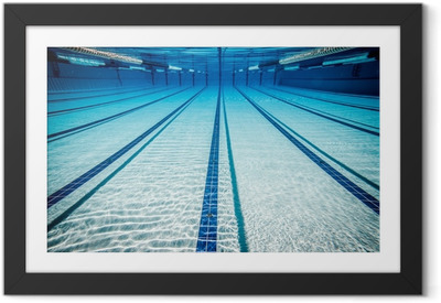 swimming pool Framed Poster