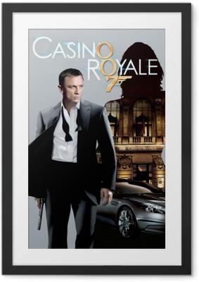 Poster in Cornice James Bond