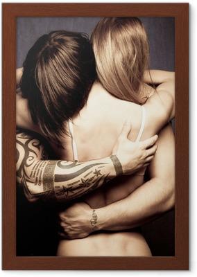 Svart lesbisk masage