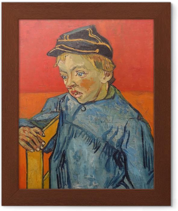 Gerahmtes Poster Vincent van Gogh - Der Schüler - Reproductions