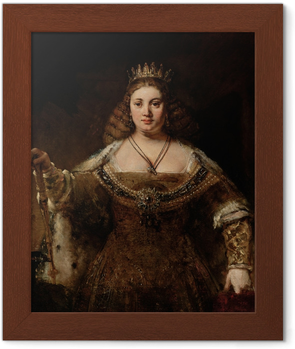 Rembrandt - Juno Framed Poster - Reproductions