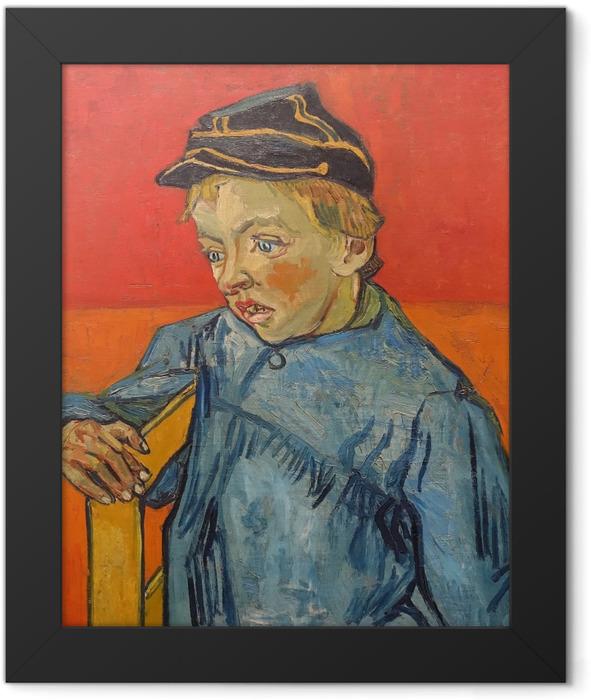 Poster en cadre Vincent van Gogh - Portrait de Camille Roulin - Reproductions