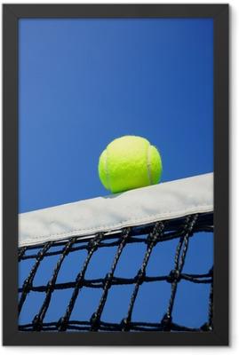 Tennis ball Framed Poster