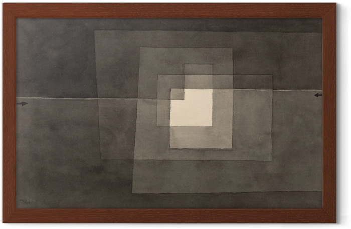 Paul Klee - Two Ways Framed Poster - Reproductions