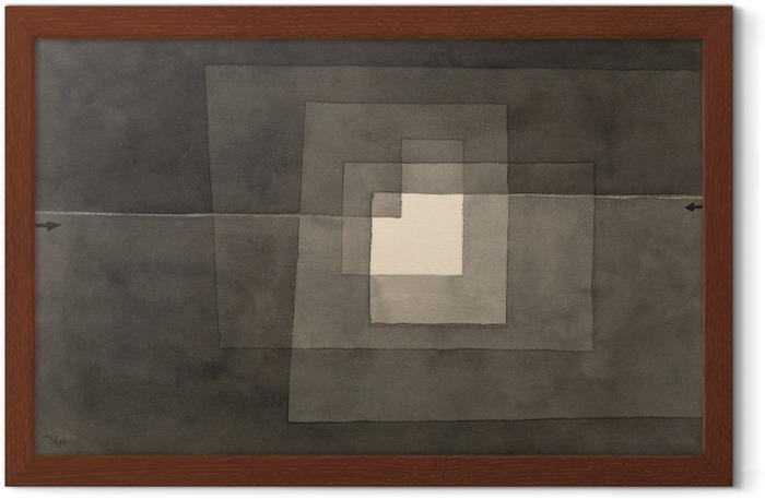 Póster Enmarcado Paul Klee - Dos caminos - Reproducciones