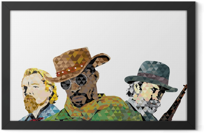 Django Framed Poster - Themes