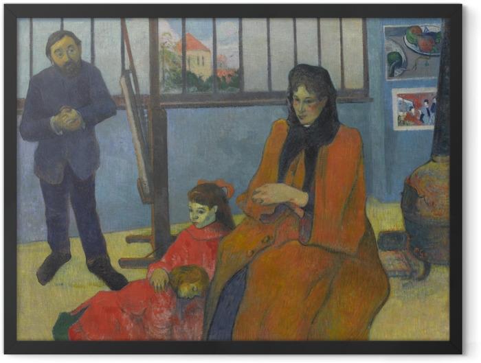 Poster en cadre Paul Gauguin - L'atelier de Schuffenecker - Reproductions