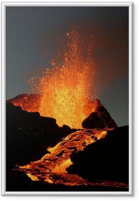 Poster en cadre Volcan 6