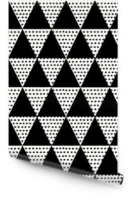 Abstract geometrisch patroon Behangrol