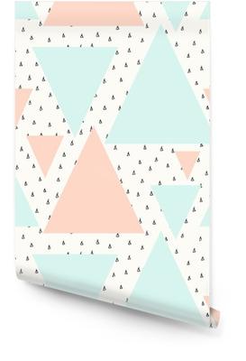 Résumé motif géométrique Rouleau de papier peint