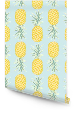 Abstrakte nahtlose Ananas pattern.vector illustration__ Tapetenrolle