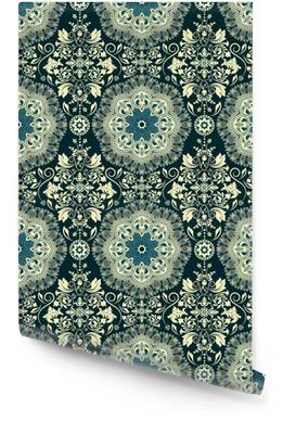Damask seamless pattern Rollo de papel pintado