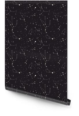 Yıldız takımyıldızı vektör Rulo Duvar Kağıdı