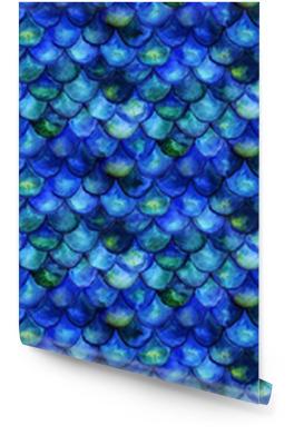 Mermaid tale watercolor Wallpaper Roll