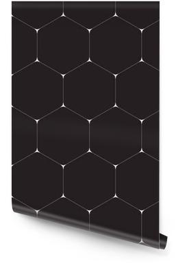 Sfondo geometrico, esagoni. linea di design. Eps di illustrazione vettoriale 10 Rotolo di carta da parati