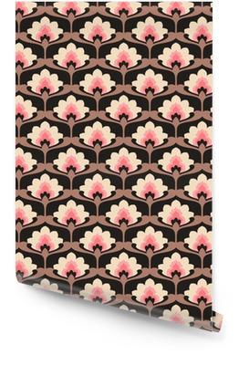 seamless vintage floral pattern Wallpaper Roll