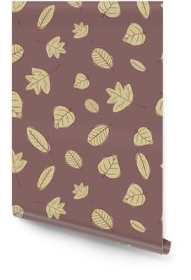 45454822 Vintage sømløs høstblad mønster. Rulletapet