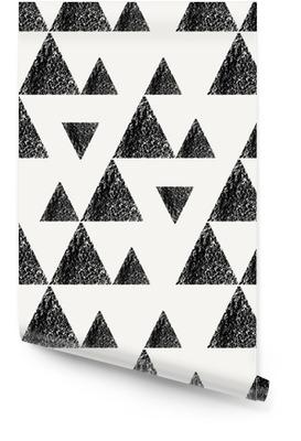 Dreiecke nahtlose Muster Tapetenrolle