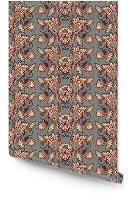 Vintage bloemen vector wallpaper Behangrol