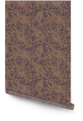 La tela de Paisley sin fisuras patrón de Oriente Rollo de papel pintado